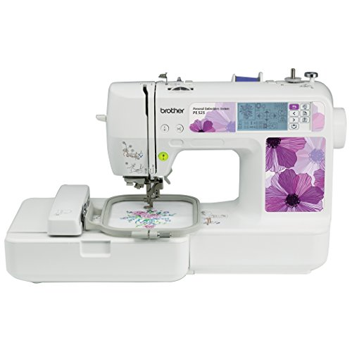 Brother PE525 Embroidery Machine review