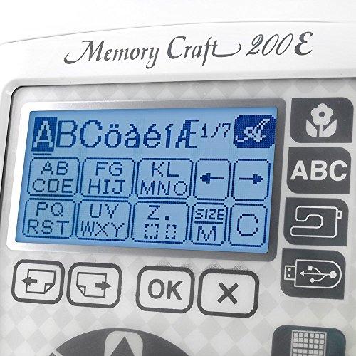 Janome 001200E Memory Craft review