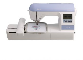 Brother PE770 Review (Embroidery-only Machine)