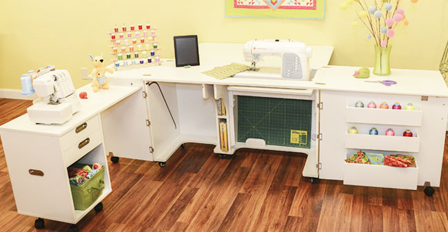 setting up a sewing room: Choosing your furniture