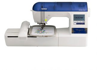 Brother Designio Series DZ820E Review (Embroidery only Machine)