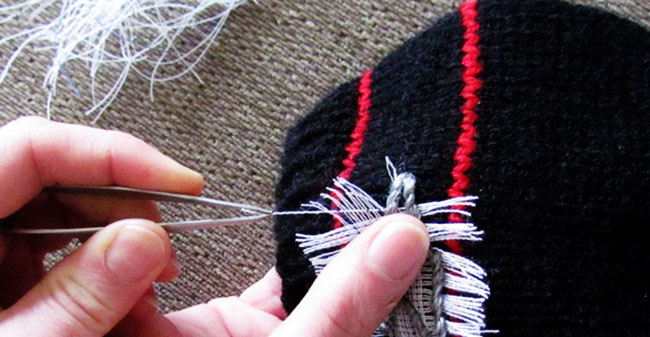 Removing Hand Embroidery