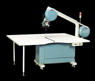 types of cutting machines used in garment industry: Band Knife Cutting Machine