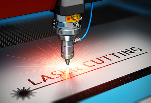 types of cutting machines used in garment industry: Laser Cutting Machine