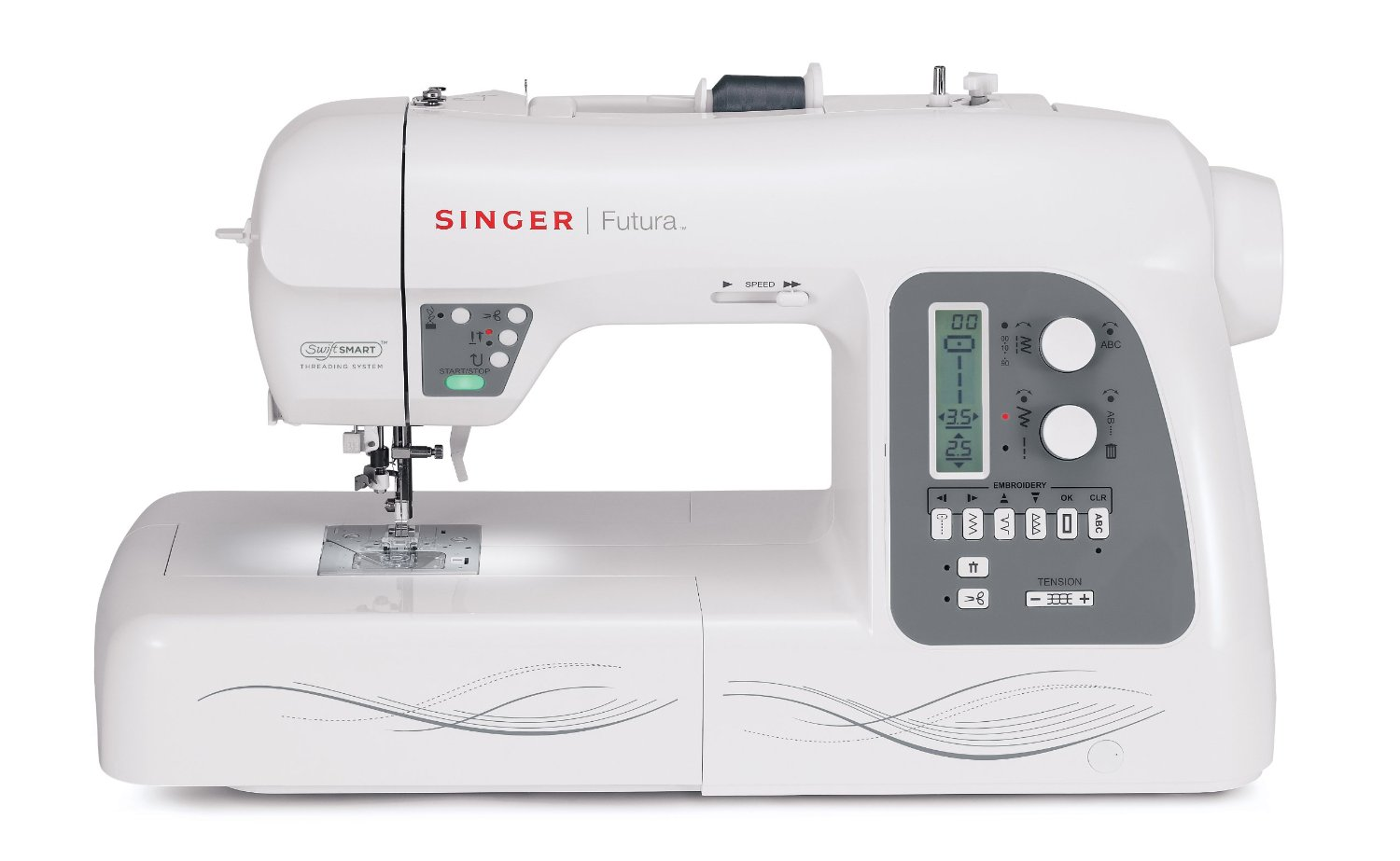 Singer Futura Xl 550 Review Sewing And Embroidery Machine Combo