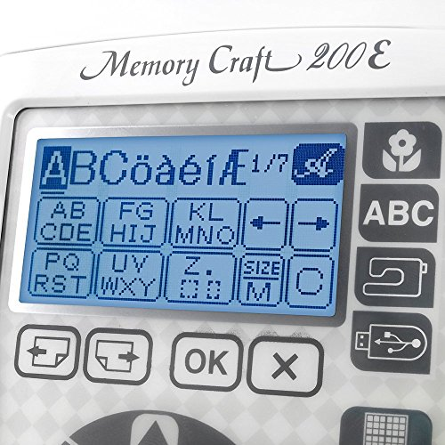 Janome 001200E Memory Craft review