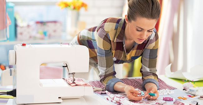 Set up your embroidery machine