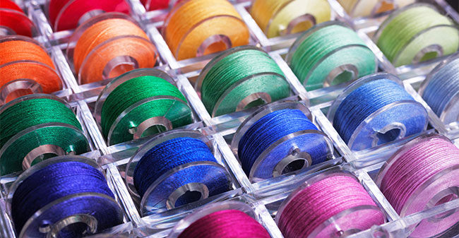 Thread the bobbin
