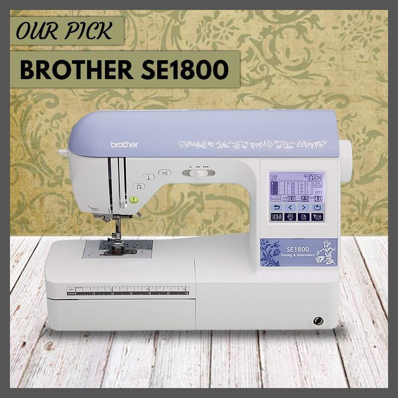 Brother SE1800 Sewing and Embroidery Machine