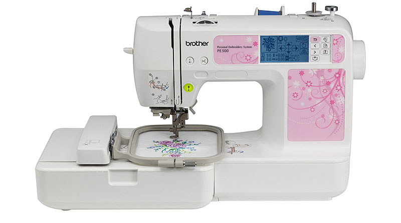 Brother PE500 Embroidery Machine Review