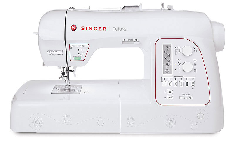 Singer XL-580 Futura Review (Embroidery and Sewing Machine)