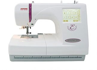 Janome Memory Craft MC350E review