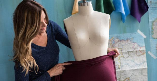 how to use a dress form: Prepare the dress form