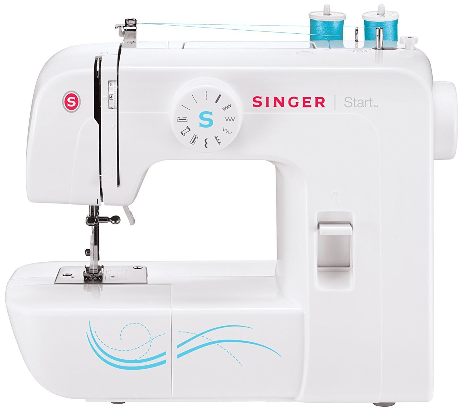 Singer Sewing and Embroidery Machine: Always on the go? This portable pick is for you!