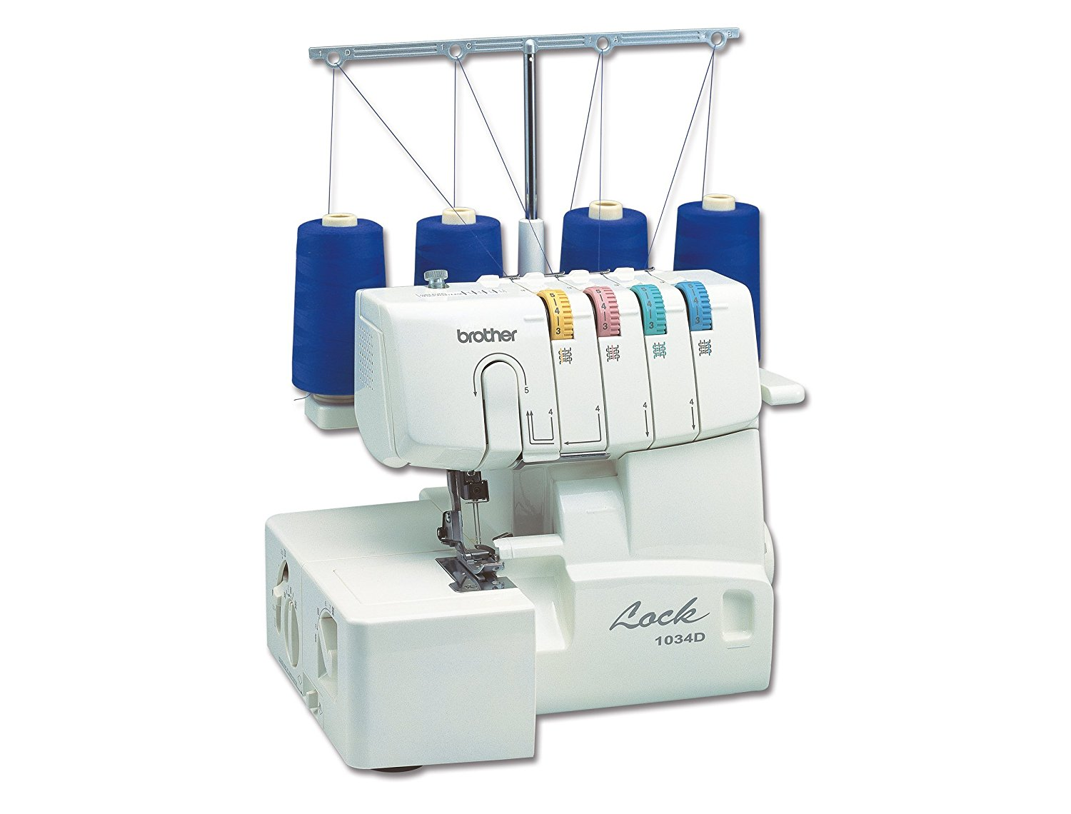 best serger machine: Brother 1034D 3/4 Thread Serger with Differential Feed