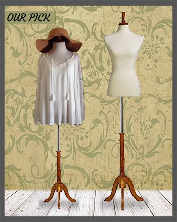 White Female Mannequin Dress Form